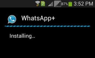 Whatsapp Plus Installing